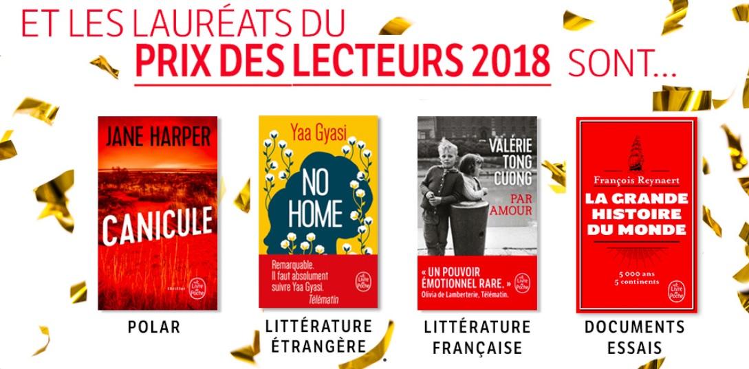 Prix Des Lecteurs Litterature 2019 Le Livre De Poche